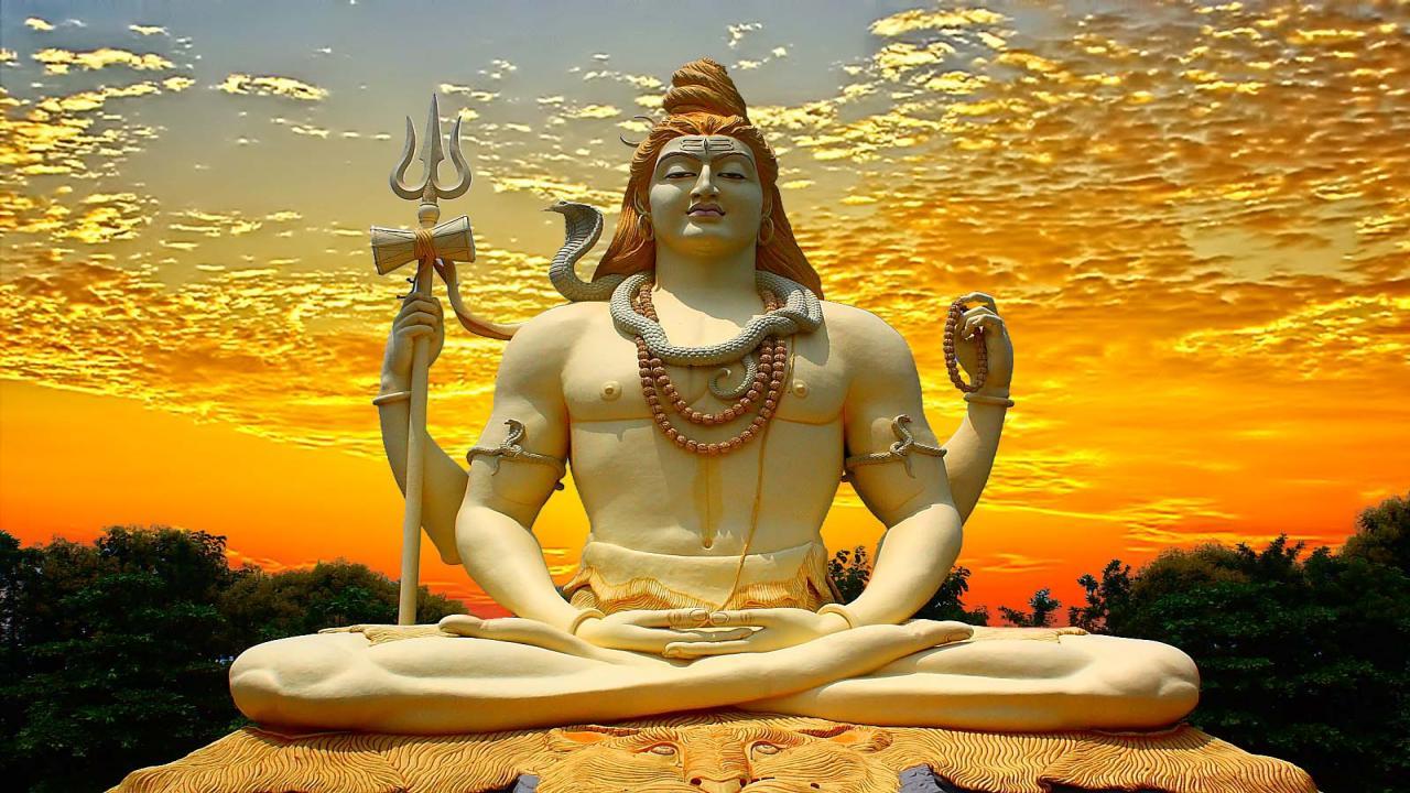 3d gods mahadev rudra svarup wallpaper download