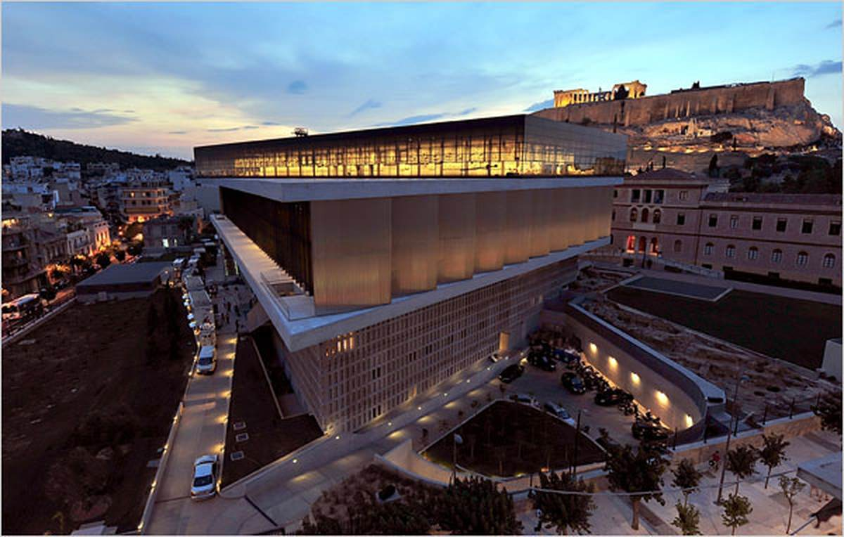 Image To Download The Acropolis Museum Greece Hd Wallpaper 1200x764