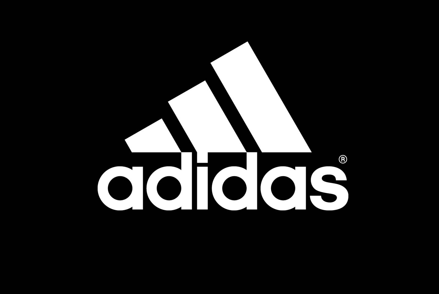 Adidas Logo Black Background Wallpaper Download
