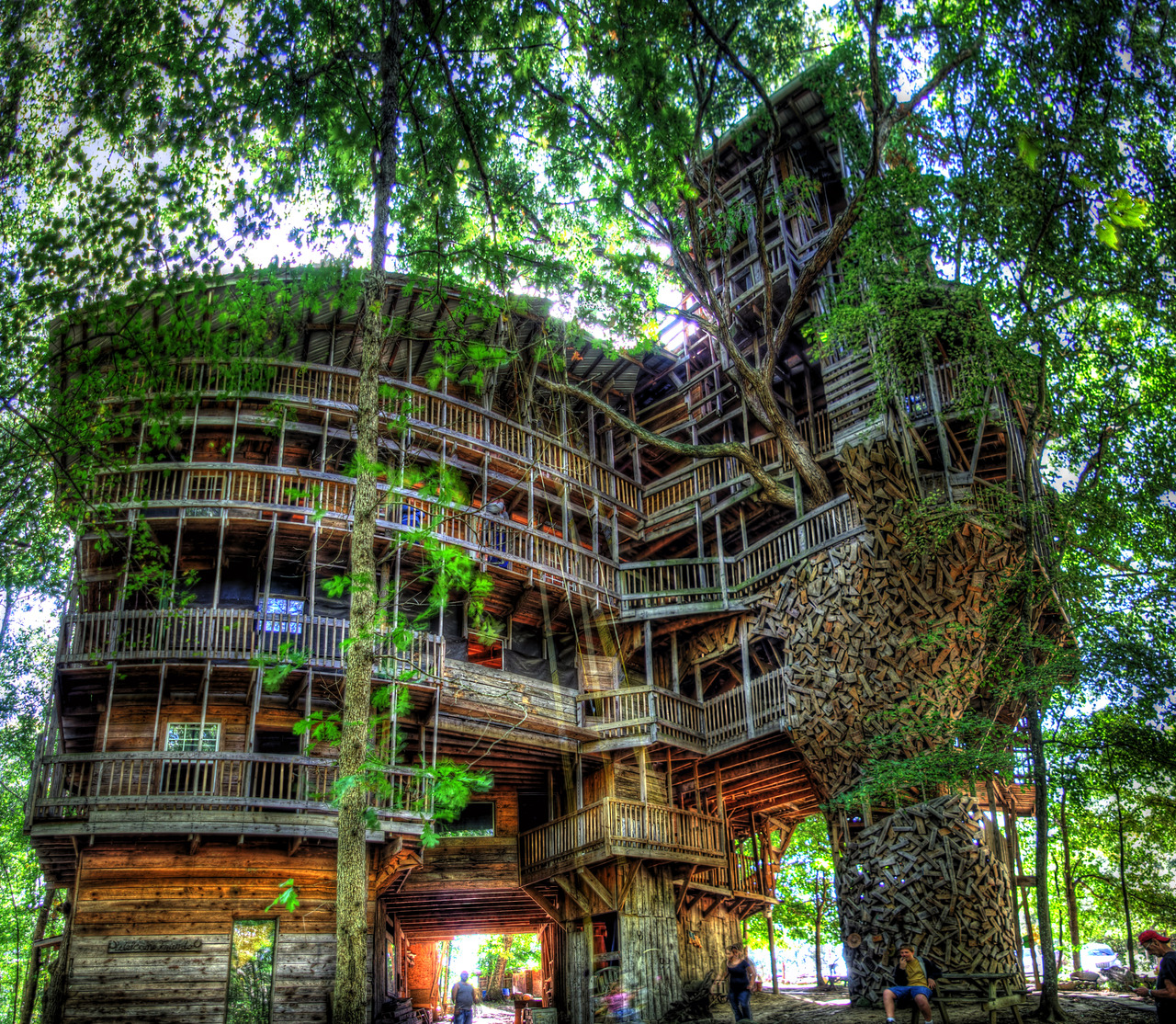 Dimensions:1280x1114. Cool HD Wallpaper   Amazing Tree House Design ...