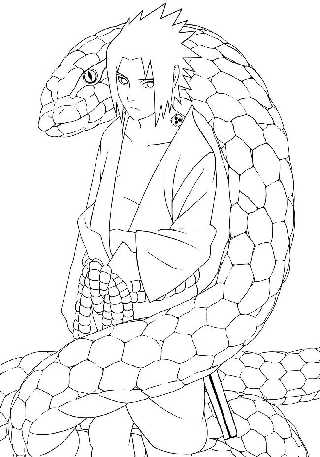 sasuke coloring pages Anime Sasuke Coloring Pages | Download cool HD wallpapers here. sasuke coloring pages