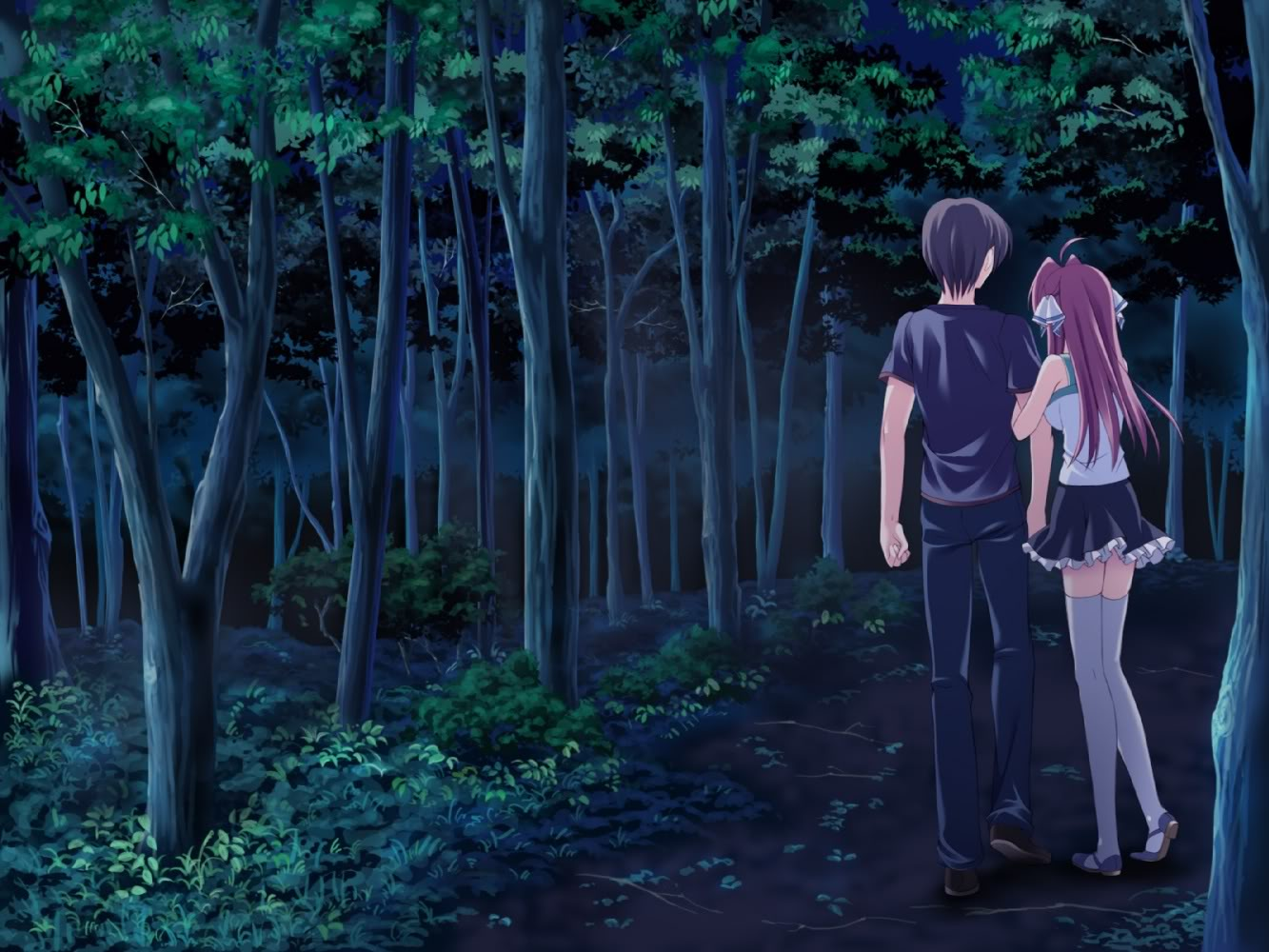 Anime Sweet couple Wallpaper 1333x1000 Download wallpapers page