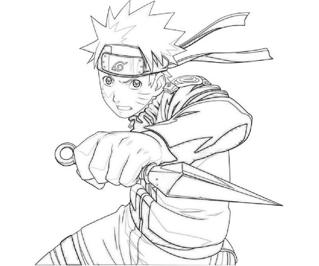 Anime Uzumaki Naruto Coloring Pages | Download cool HD wallpapers ...