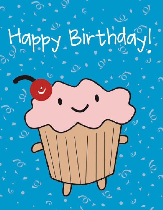 Birthday Card Cute