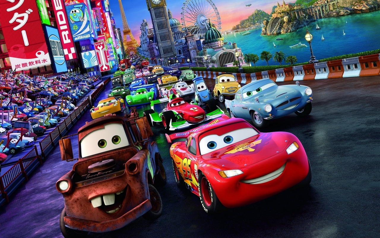 Minecraft radiator springs (disney movie cars) + download youtube.
