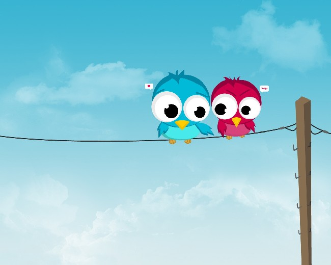 Cute Love Birds Wallpaper Download Cool Hd Wallpapers Here