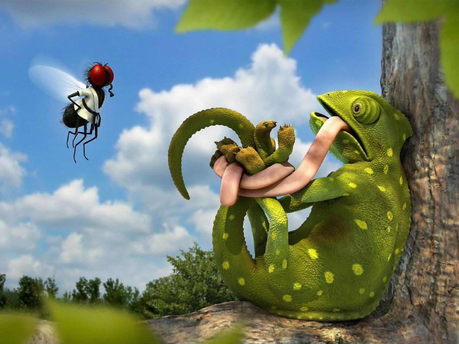 Funny Cartoon Wallpaper Download Wallpapers Page