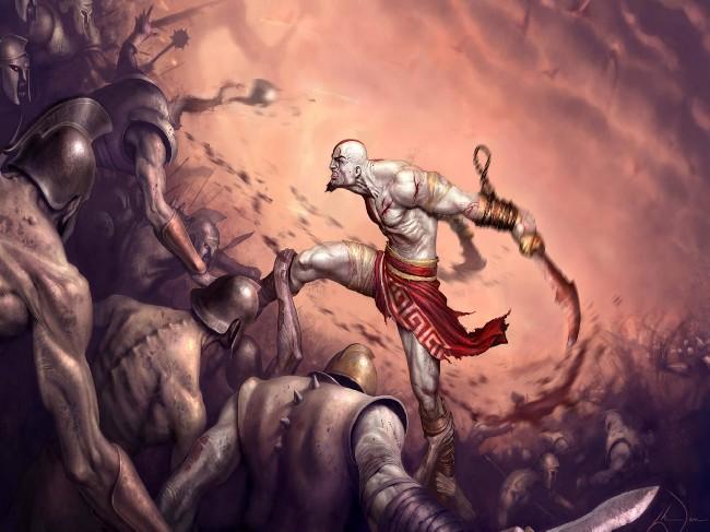 God Of War 3d Wallpaper Download Cool Hd Wallpapers Here