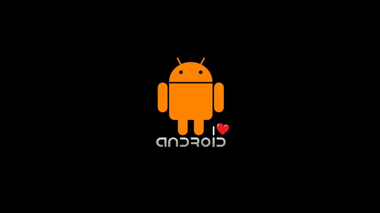 Android Logo Wallpaper Hd I Love Android Logo De...