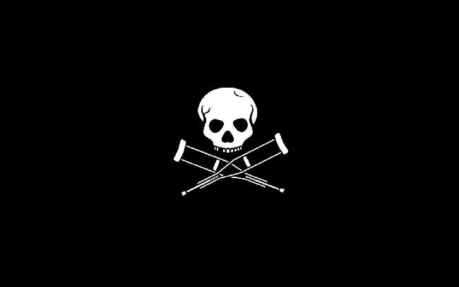 Jackass Skull Logo Hd Wallpaper