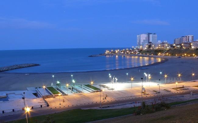 Mar Del Plata City Beach Wallpaper Download Cool Hd