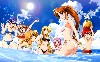 Cartoons Summer Holiday Wallpaper wallpaper