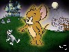 Cartoons Tom And Jerry Halloween Wallpaper wallpaper