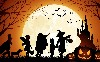 Halloween Cartoon Adventure Wallpaper wallpaper