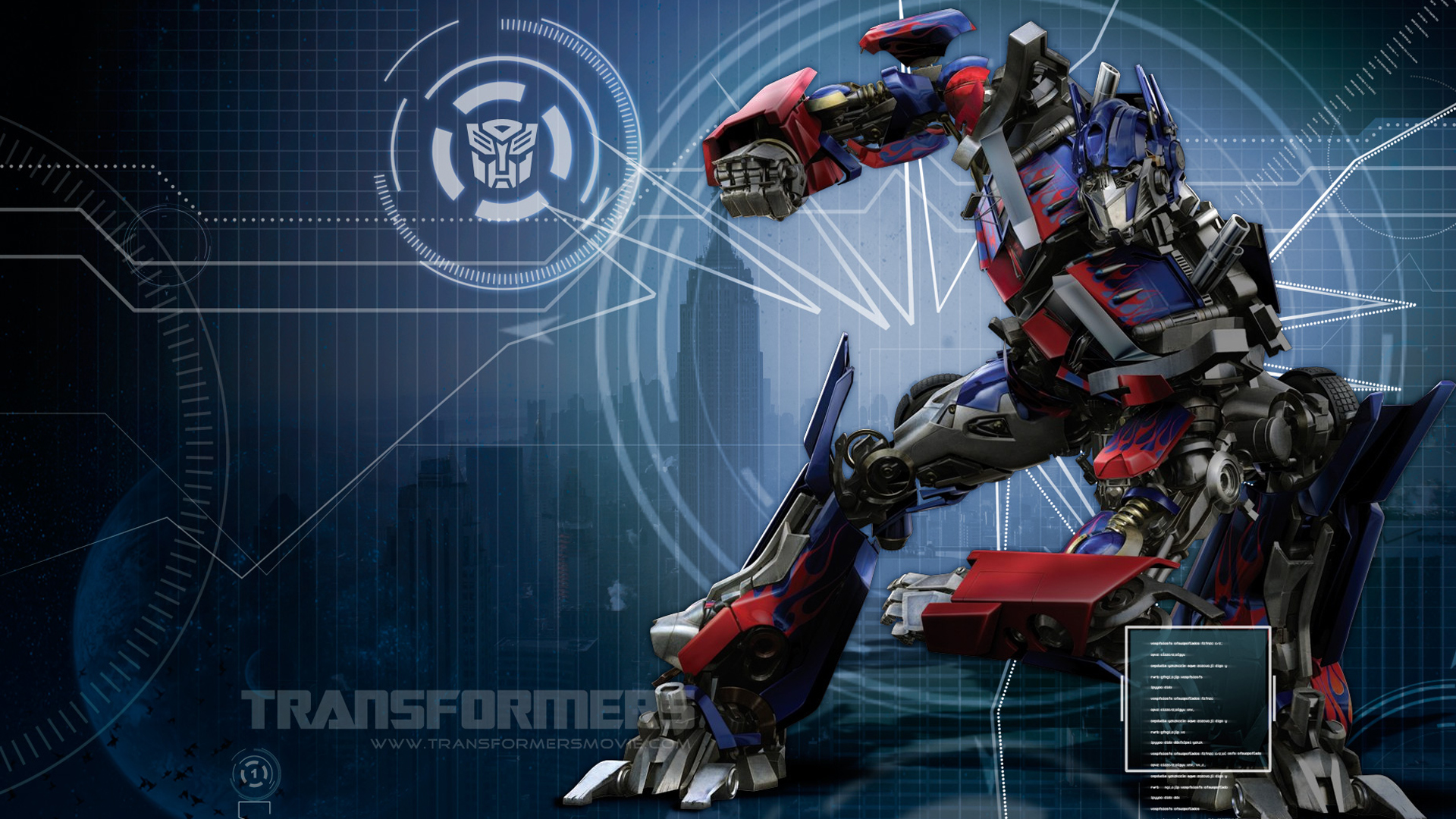 transformers optimus prime hd wallpaper | download wallpapers page