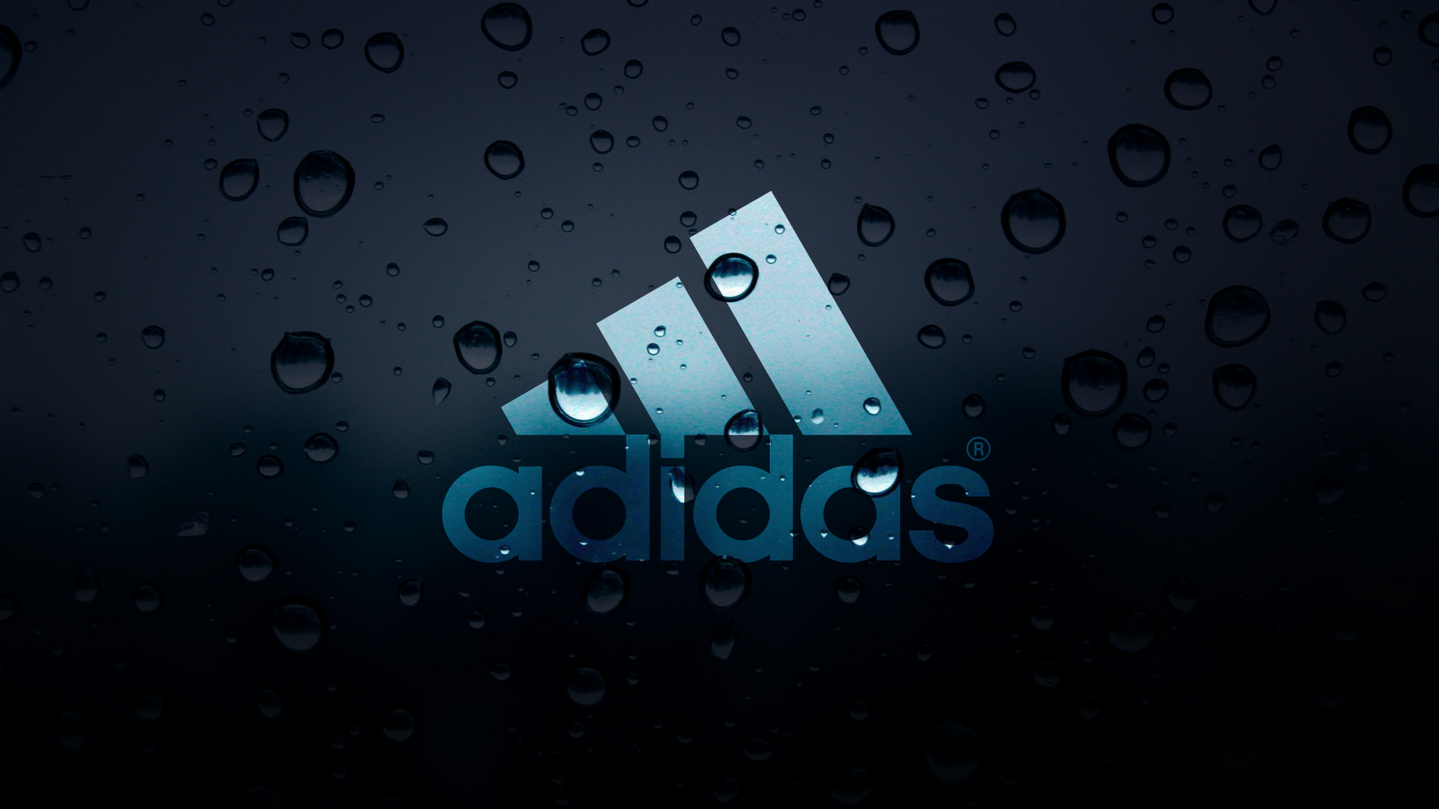 water drops adidas logo hd wallpaper | download cool hd wallpapers here.