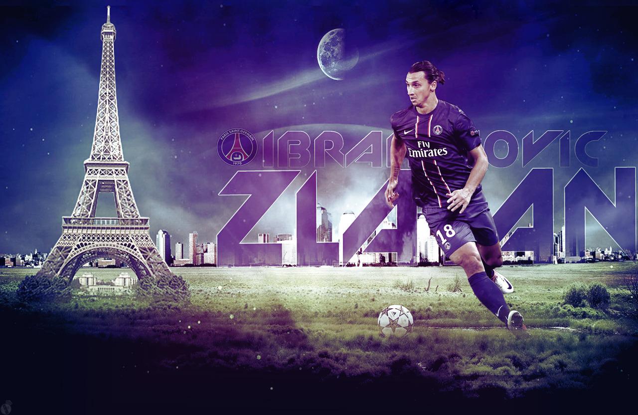The Zlatan Ibrahimovic Psg